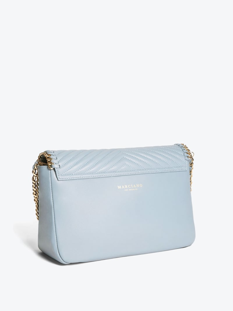 MARCIANO LEATHER CROSSBODY BAG image number 1
