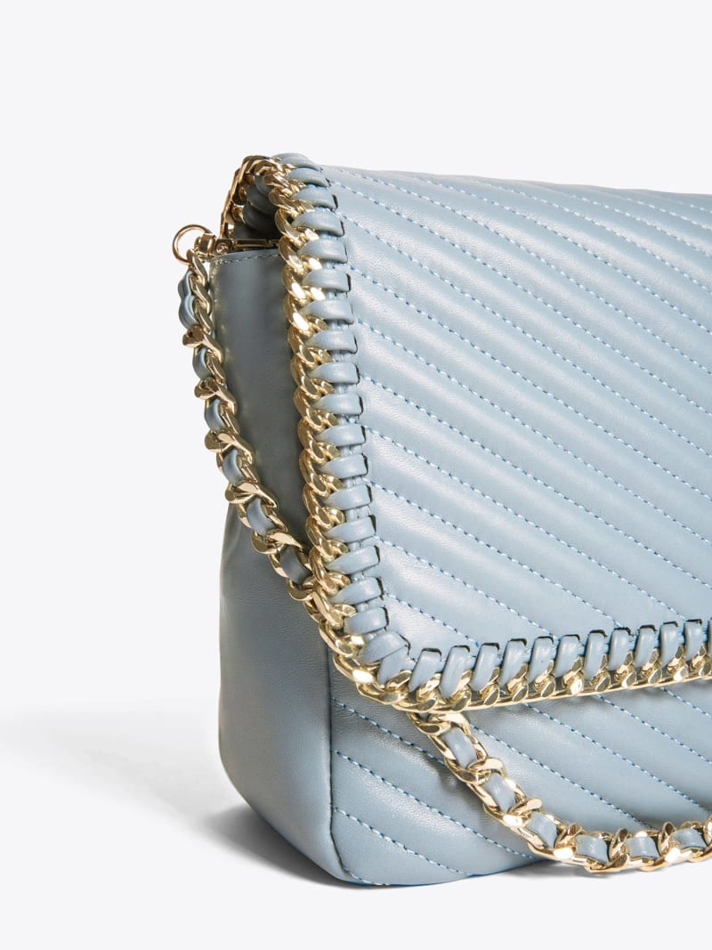 MARCIANO LEATHER CROSSBODY BAG image number 2