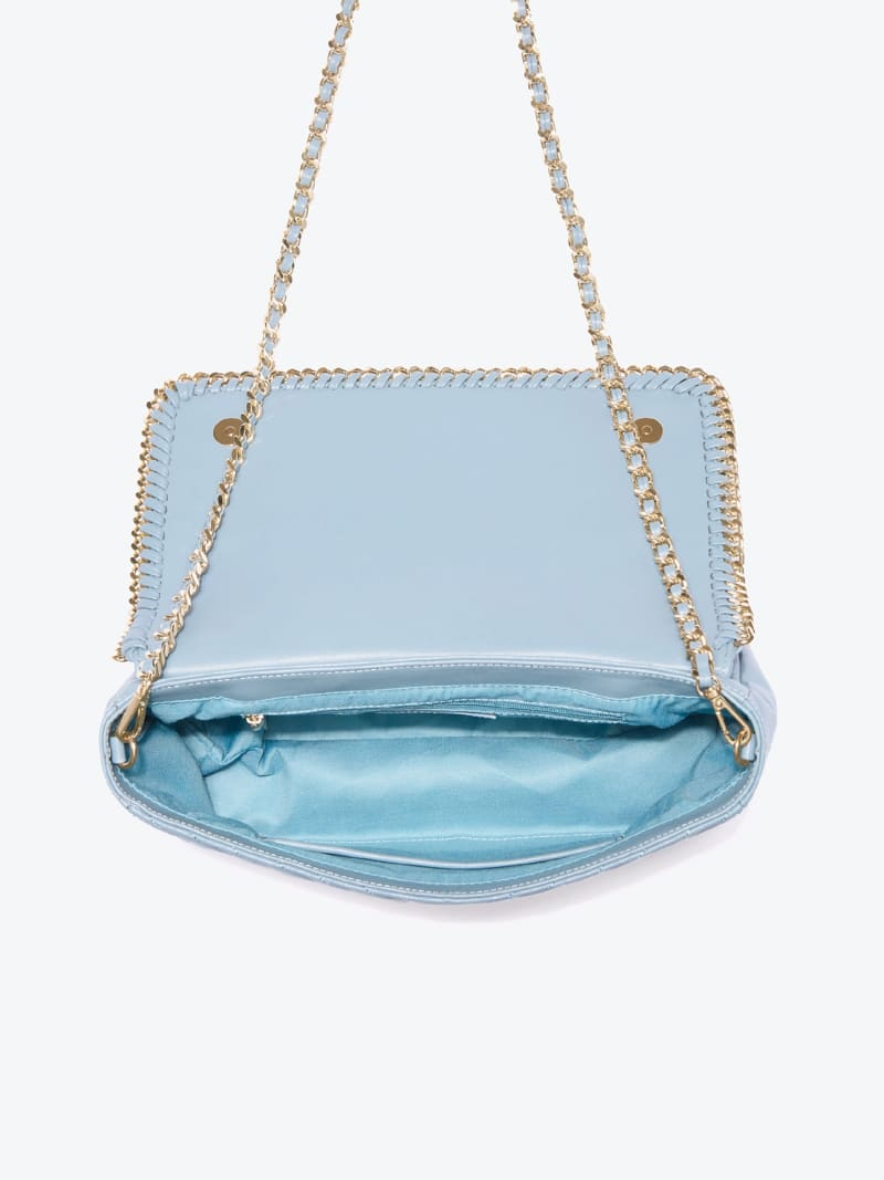 MARCIANO LEATHER CROSSBODY BAG image number 3