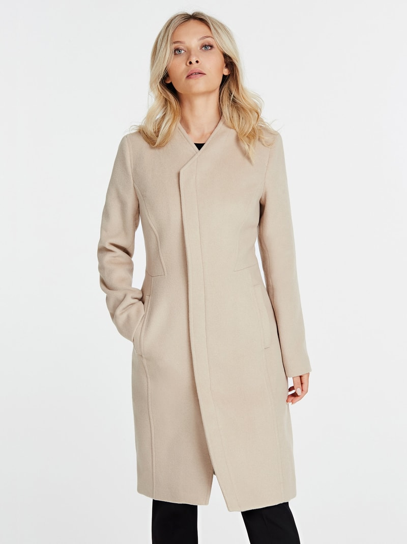 MARCIANO COAT WITH POCKETS image number 0