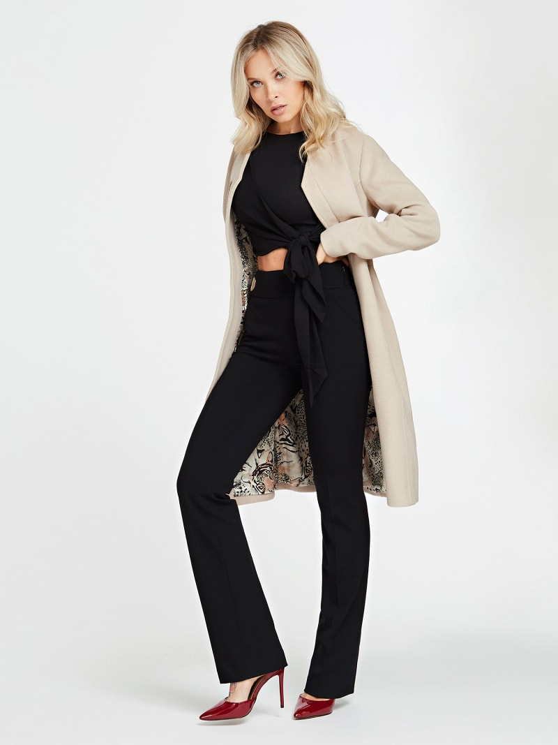 MARCIANO COAT WITH POCKETS image number 1