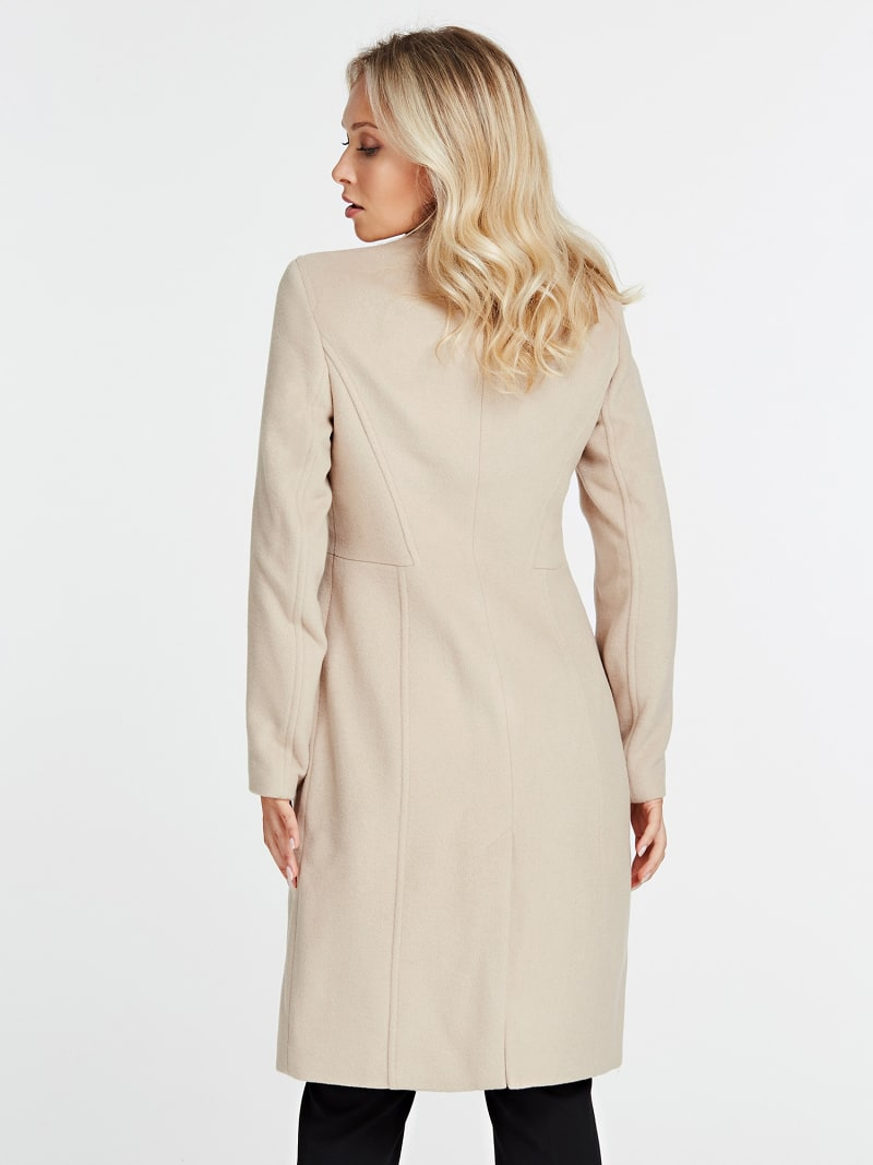 MARCIANO COAT WITH POCKETS image number 2