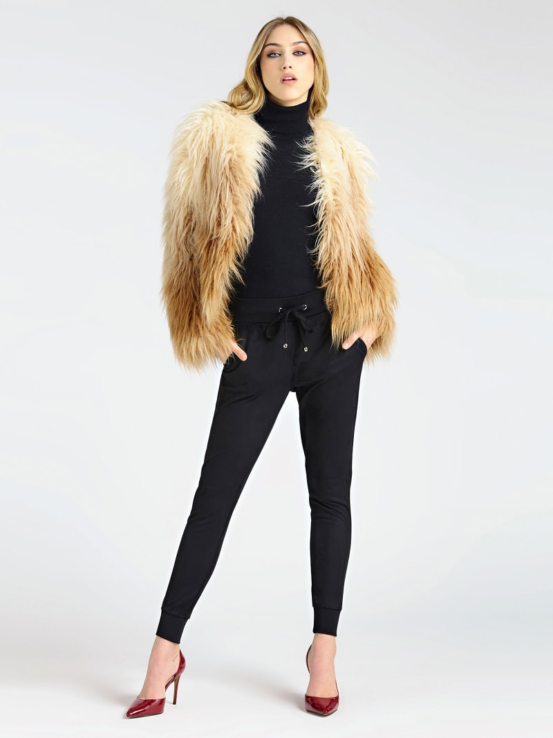 MARCIANO FAUX FUR JACKET image number 1