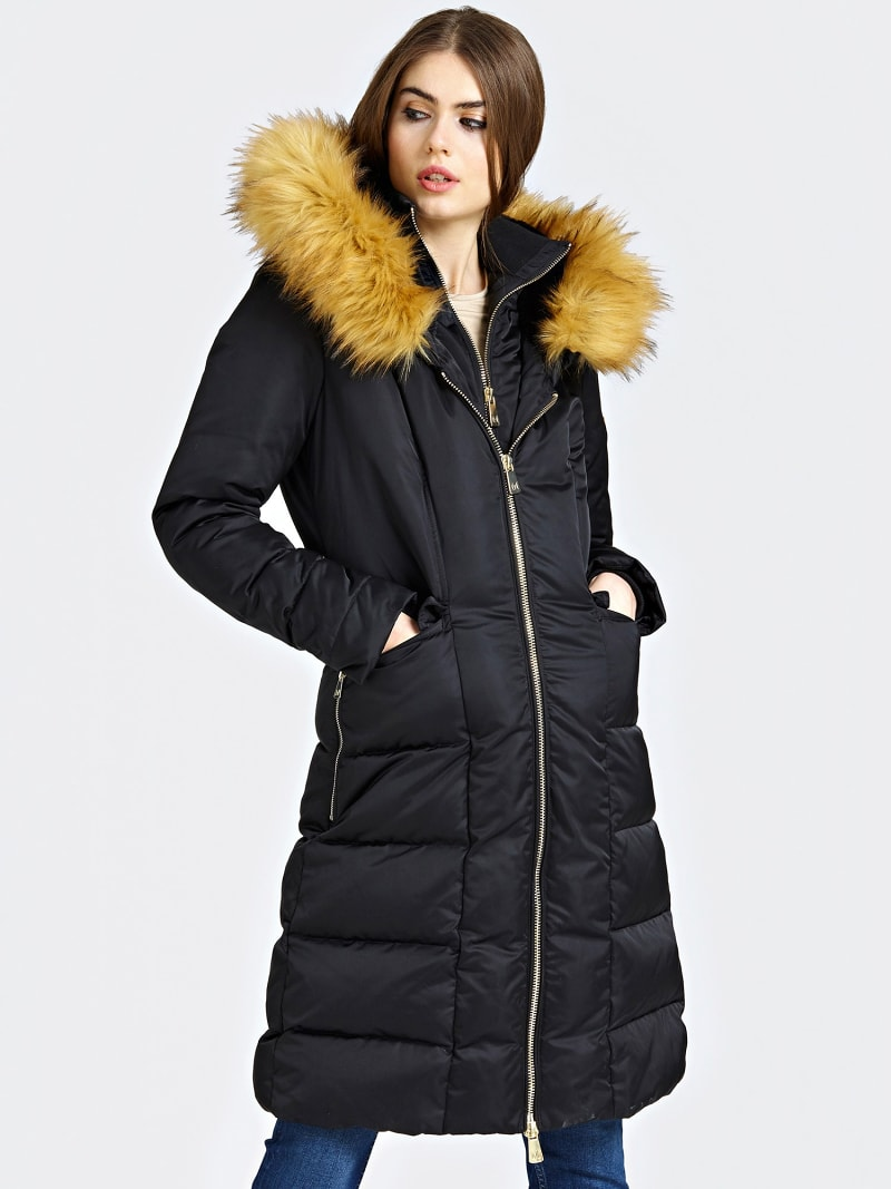 MARCIANO LONG PADDED JACKET  image number 0