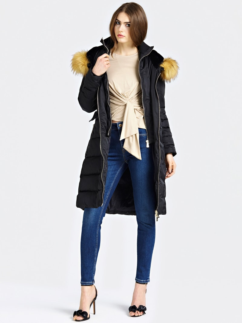 MARCIANO LONG PADDED JACKET  image number 1