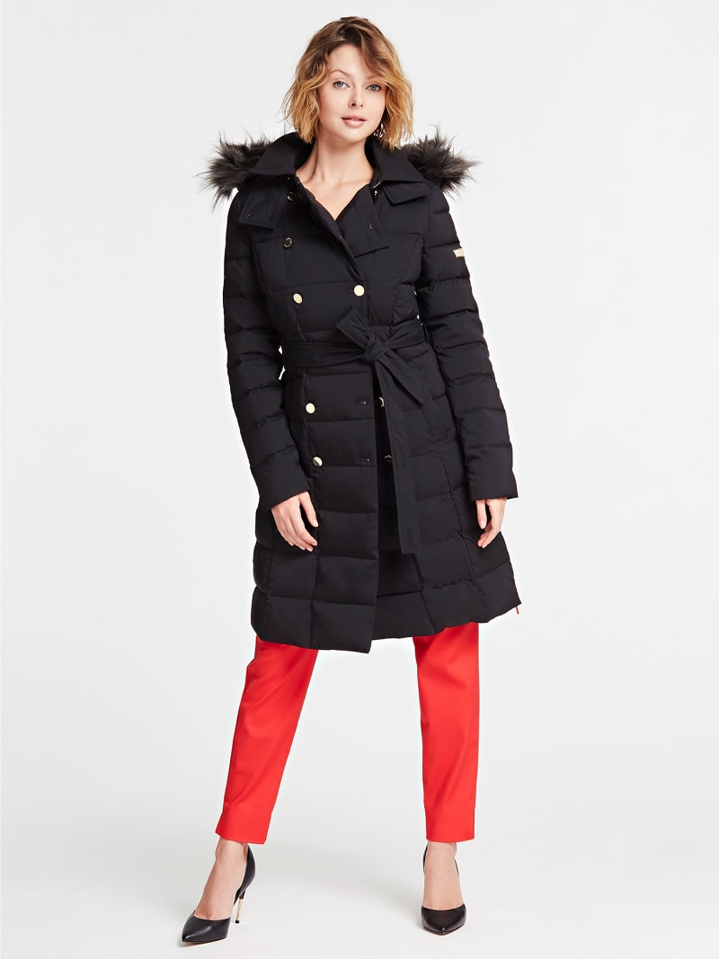 MARCIANO PADDED TRENCH  image number 0