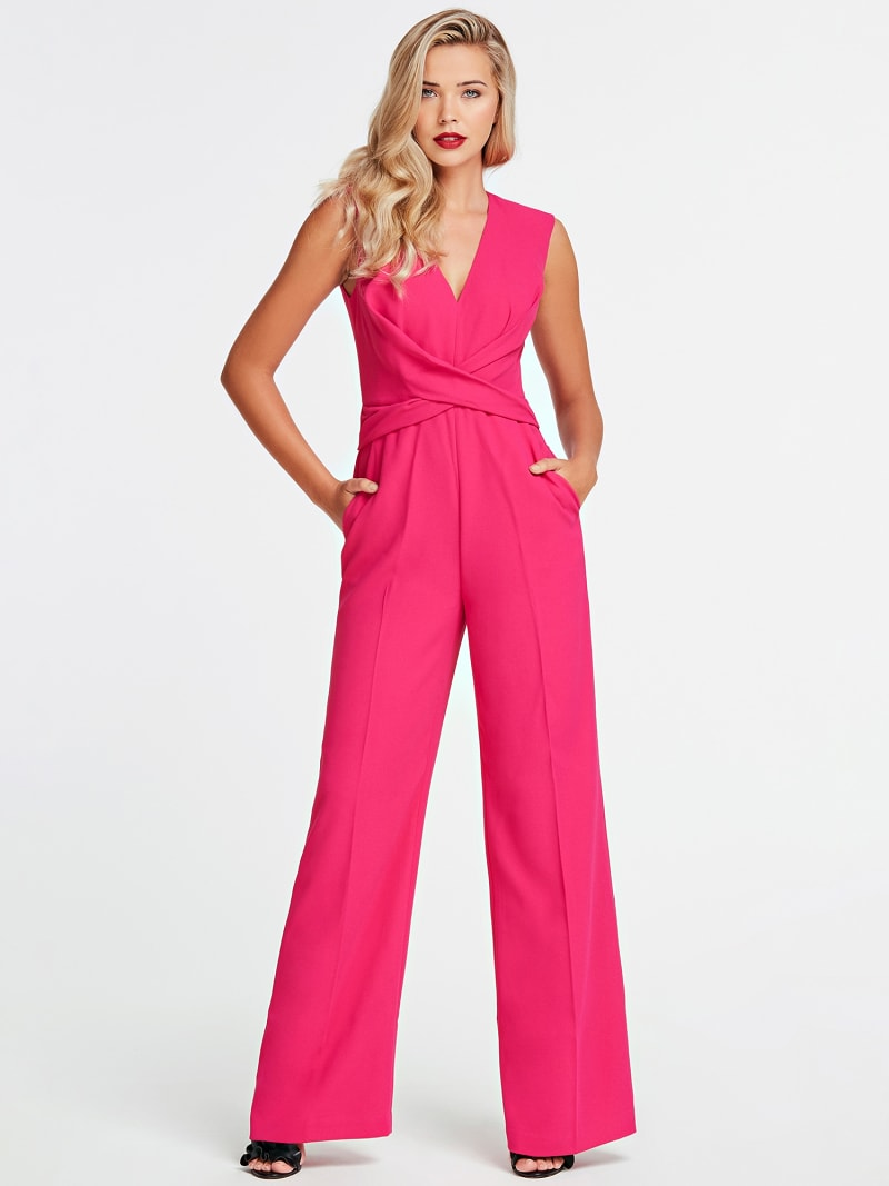 MARCIANO JUMPSUIT CROSSED AT FRONT image number 0