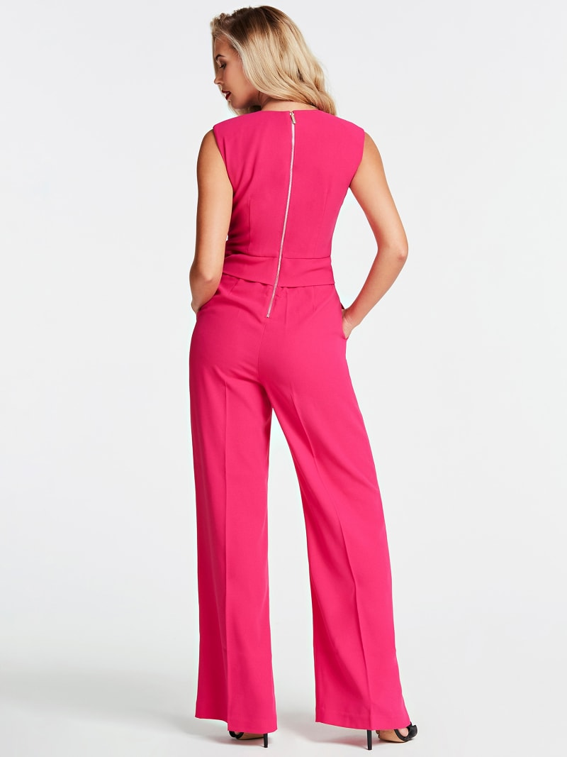 MARCIANO JUMPSUIT CROSSED AT FRONT image number 1
