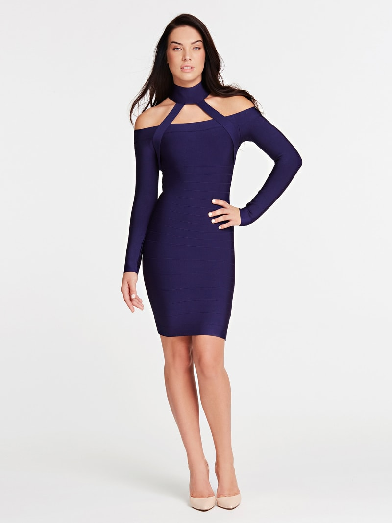 MARCIANO BANDAGE DRESS image number 0