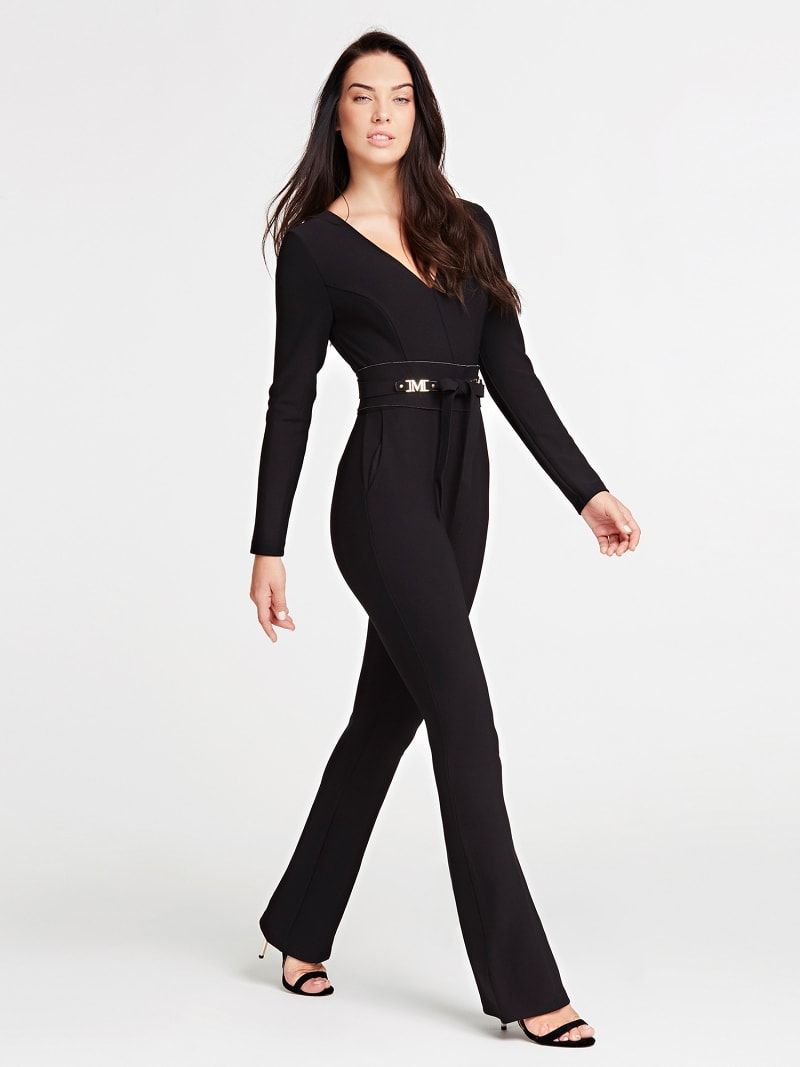 MARCIANO JUMPSUIT WITH BRANDED BELT image number 0