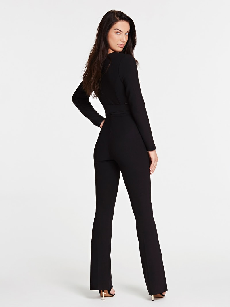 MARCIANO JUMPSUIT WITH BRANDED BELT image number 1