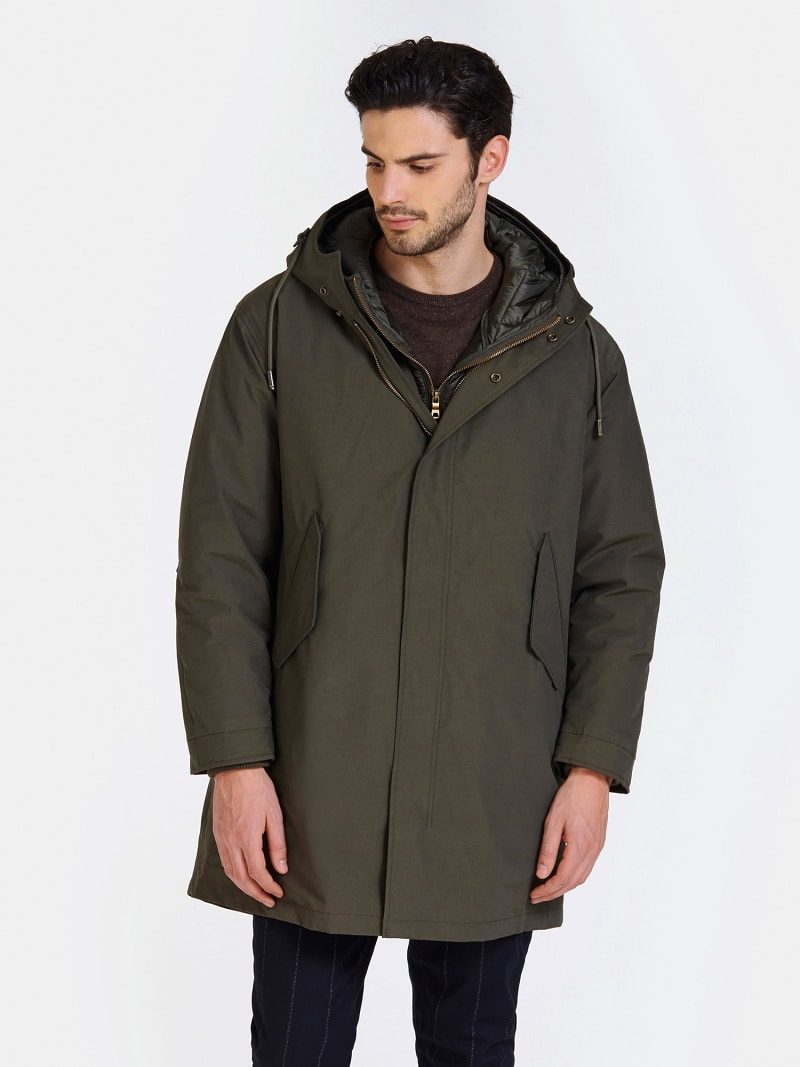 PARKA INTERIEUR AMOVIBLE MARCIANO image number 0