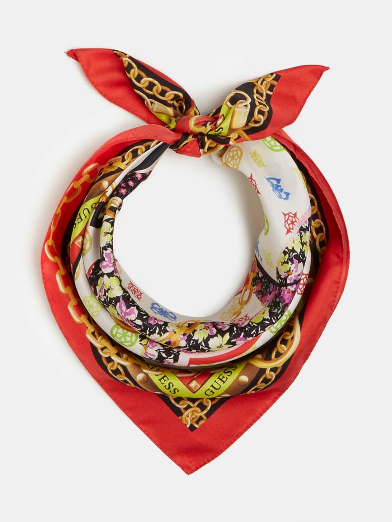 LOGO CHAIN PRINT NECKERCHIEF image number 1