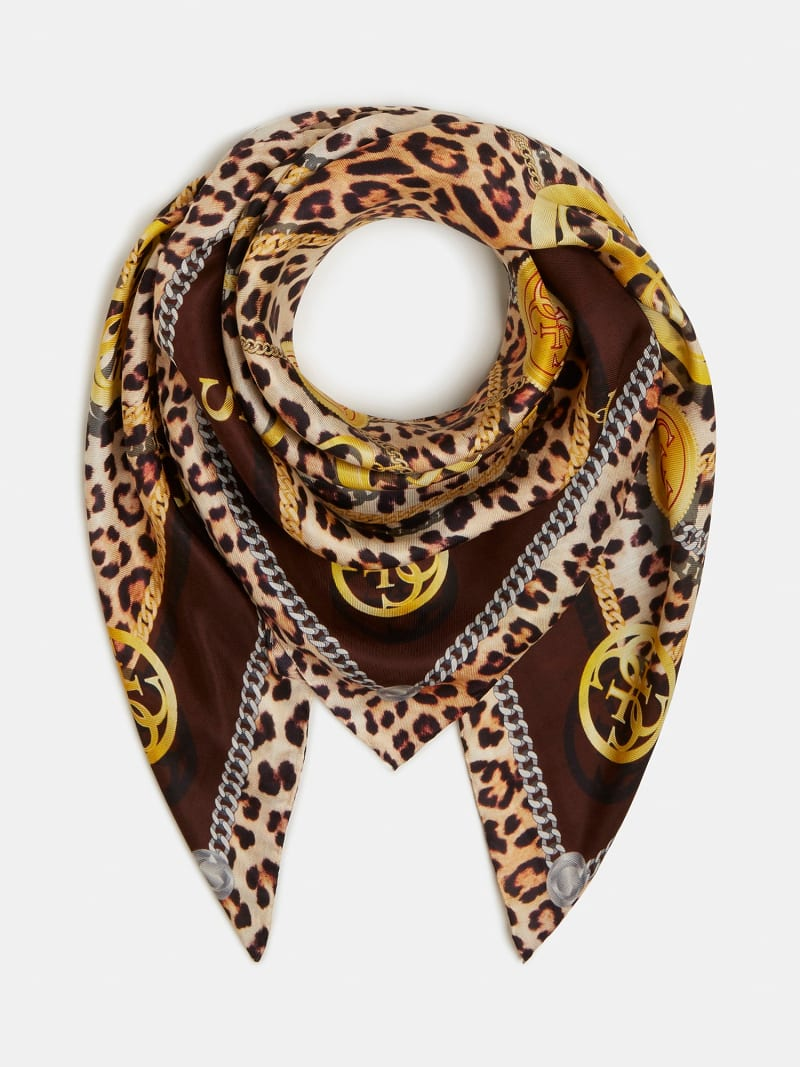 FOULARD LUNE LOGO CHAINES image number 1
