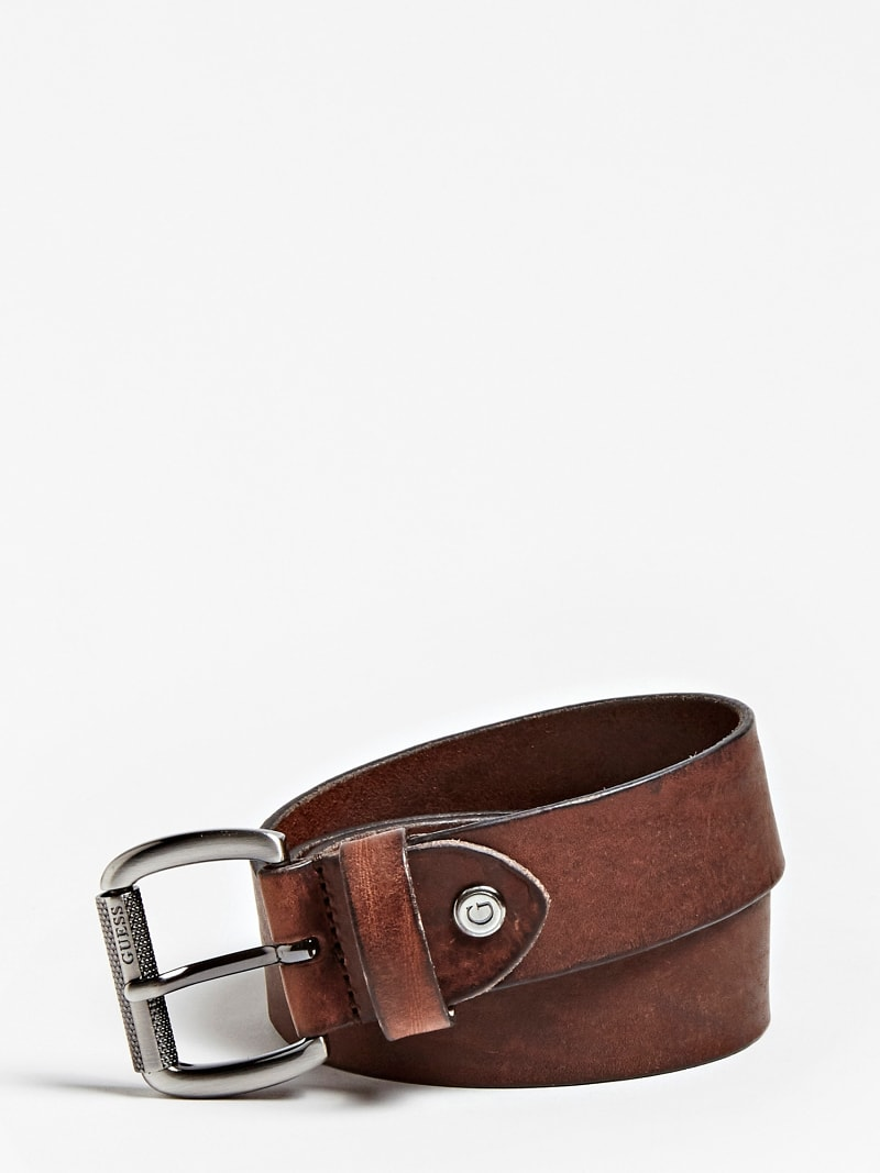 COUNTRY GENUINE LEATHER BELT image number 0