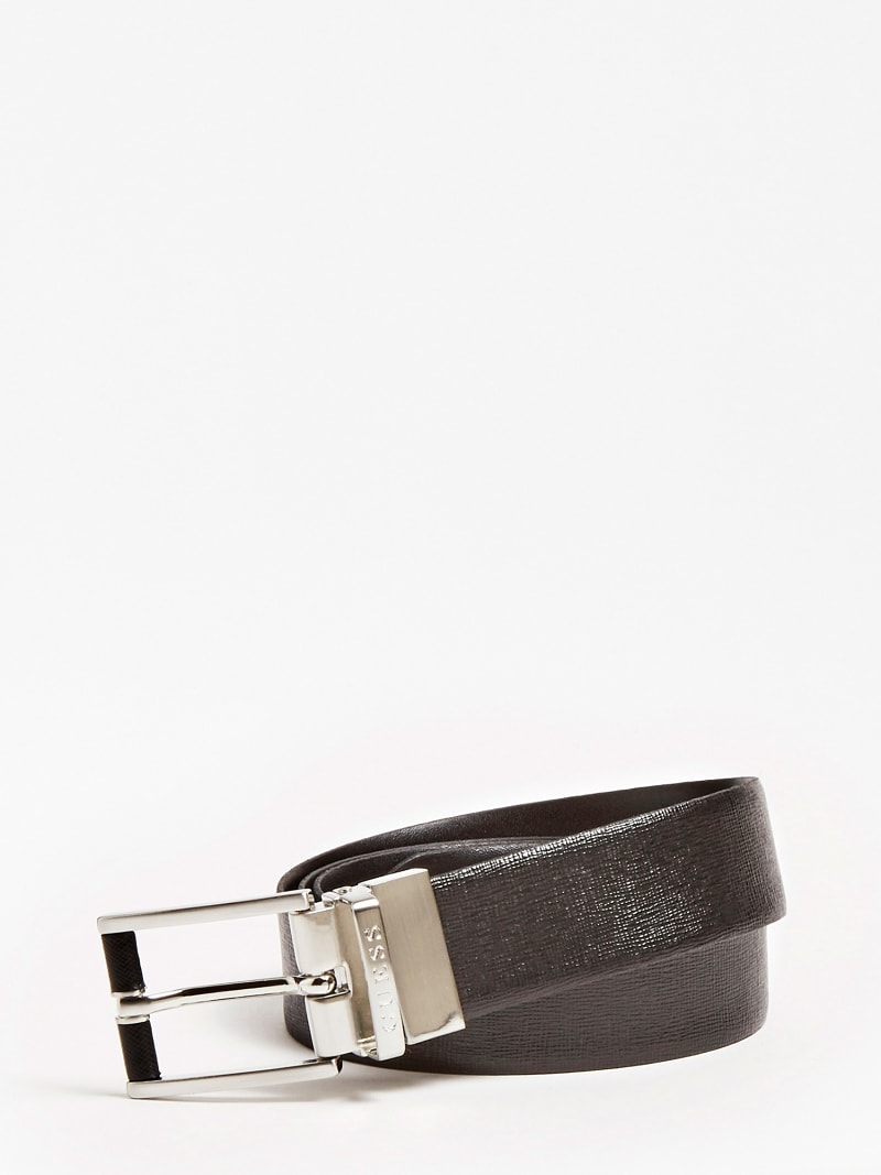 REAL LEATHER REVERSIBLE BELT image number 0