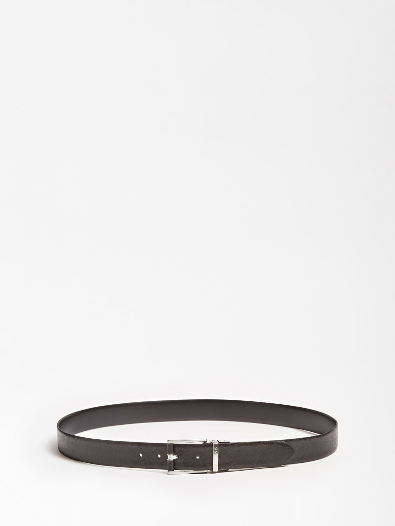 REAL LEATHER REVERSIBLE BELT image number 1