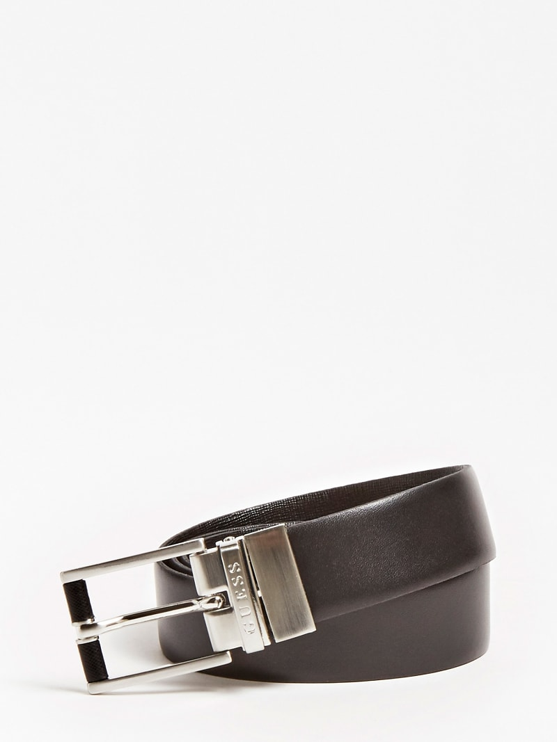 REAL LEATHER REVERSIBLE BELT image number 2