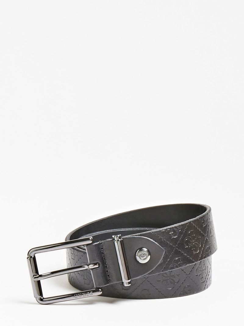 LUXE REAL LEATHER BELT image number 0