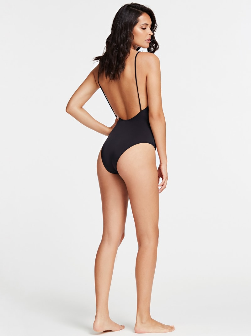 LOW-CUT ONE-PIECE SWIMSUIT image number 1