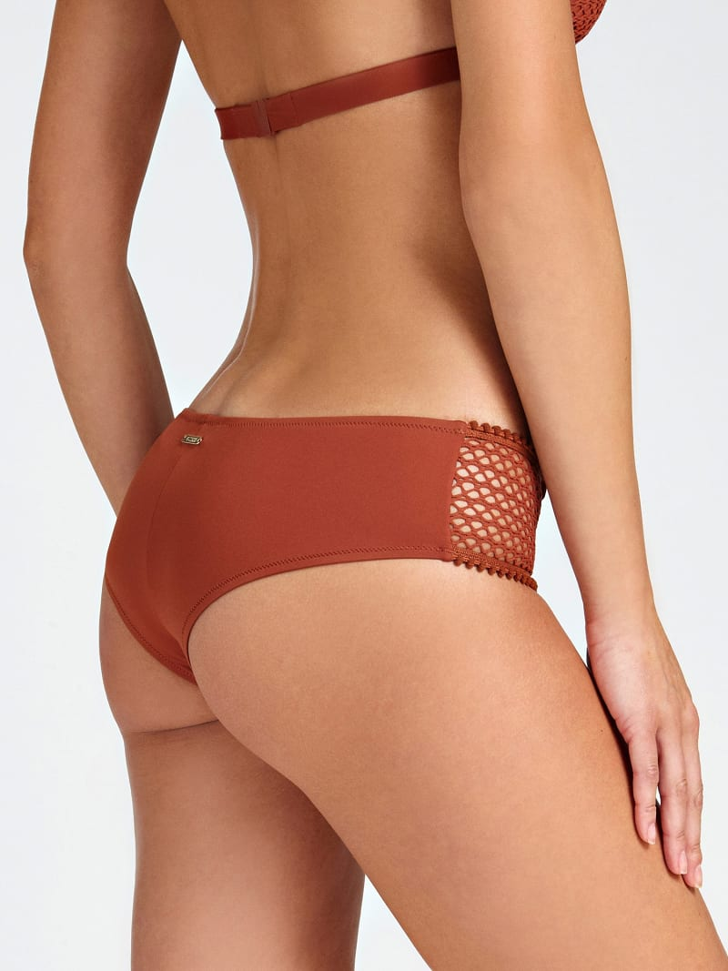 PERFORATED-LOOK BIKINI BRIEFS image number 2