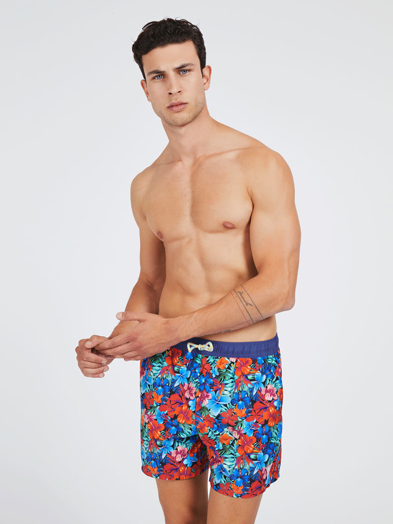ALL OVER PRINT SWIM TRUNK image number 0
