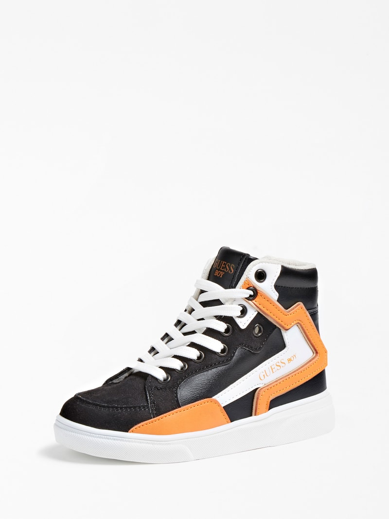 OWEN LOGO HIGH-TOP SNEAKER (27-34) image number 0