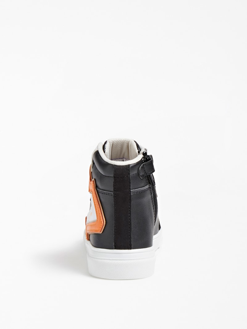 OWEN LOGO HIGH-TOP SNEAKER (27-34) image number 2