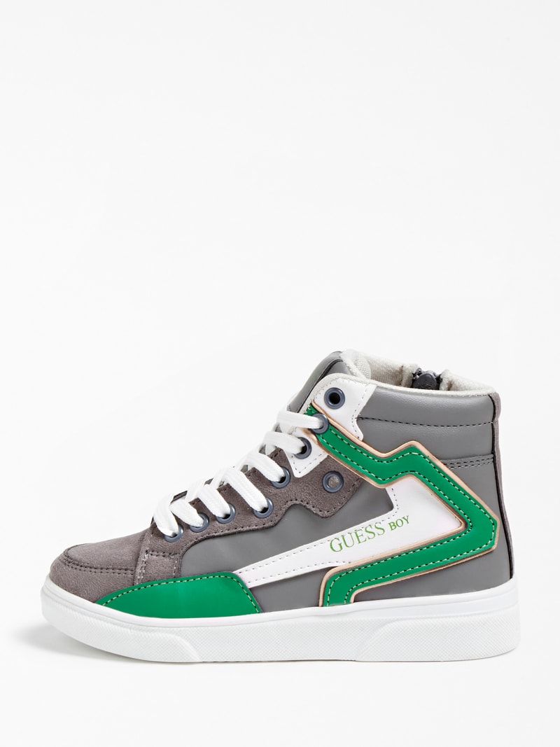 OWEN LOGO HIGH-TOP SNEAKER (27-34) image number 1