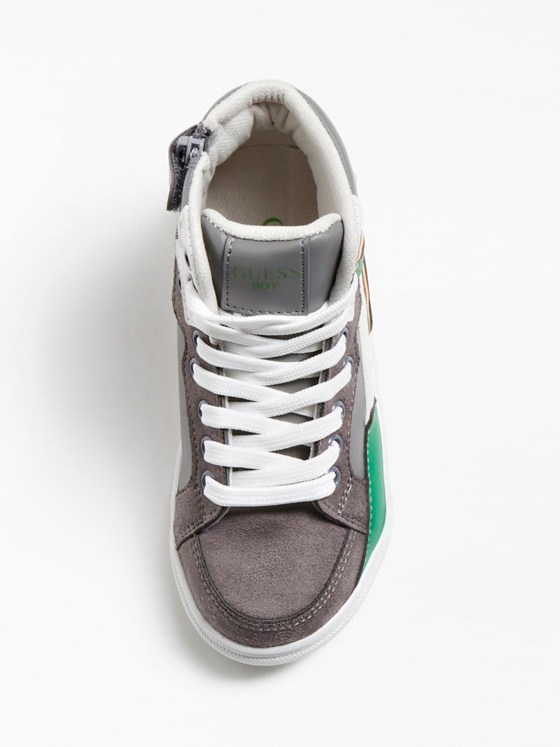OWEN LOGO HIGH-TOP SNEAKER (27-34) image number 3