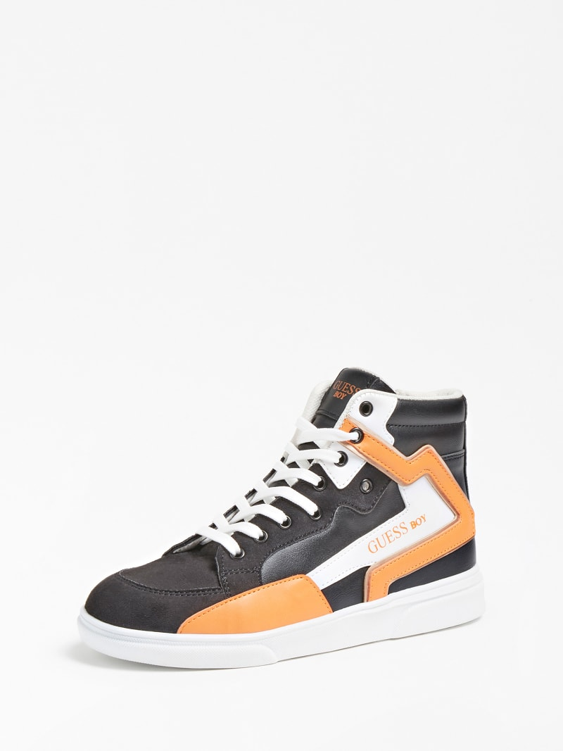 OWEN LOGO HIGH-TOP SNEAKER (35-38) image number 0