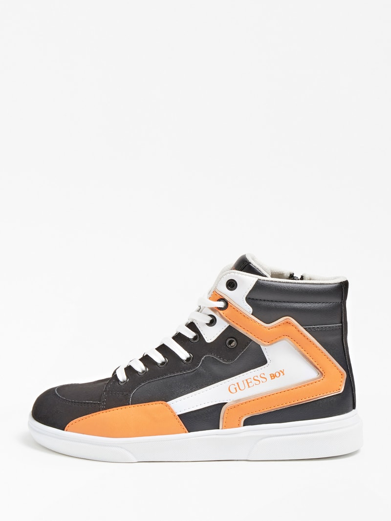 OWEN LOGO HIGH-TOP SNEAKER (35-38) image number 1
