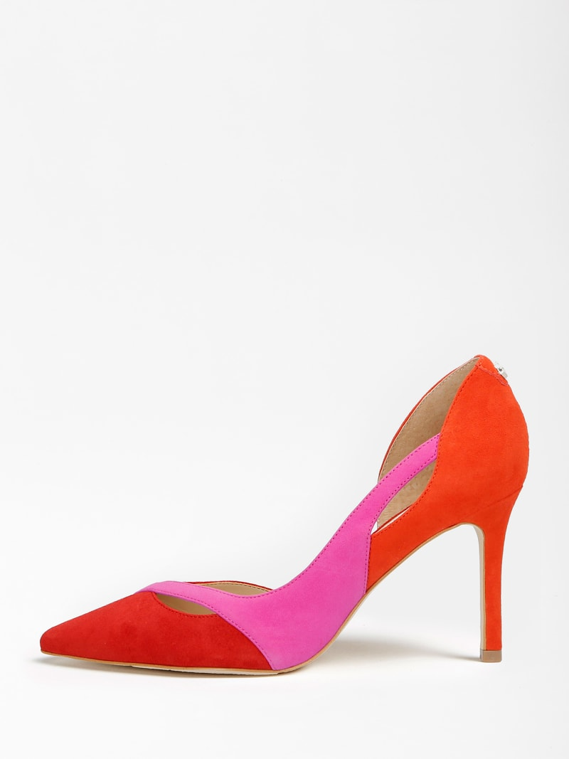 DENALY SUEDE COURT SHOE image number 1