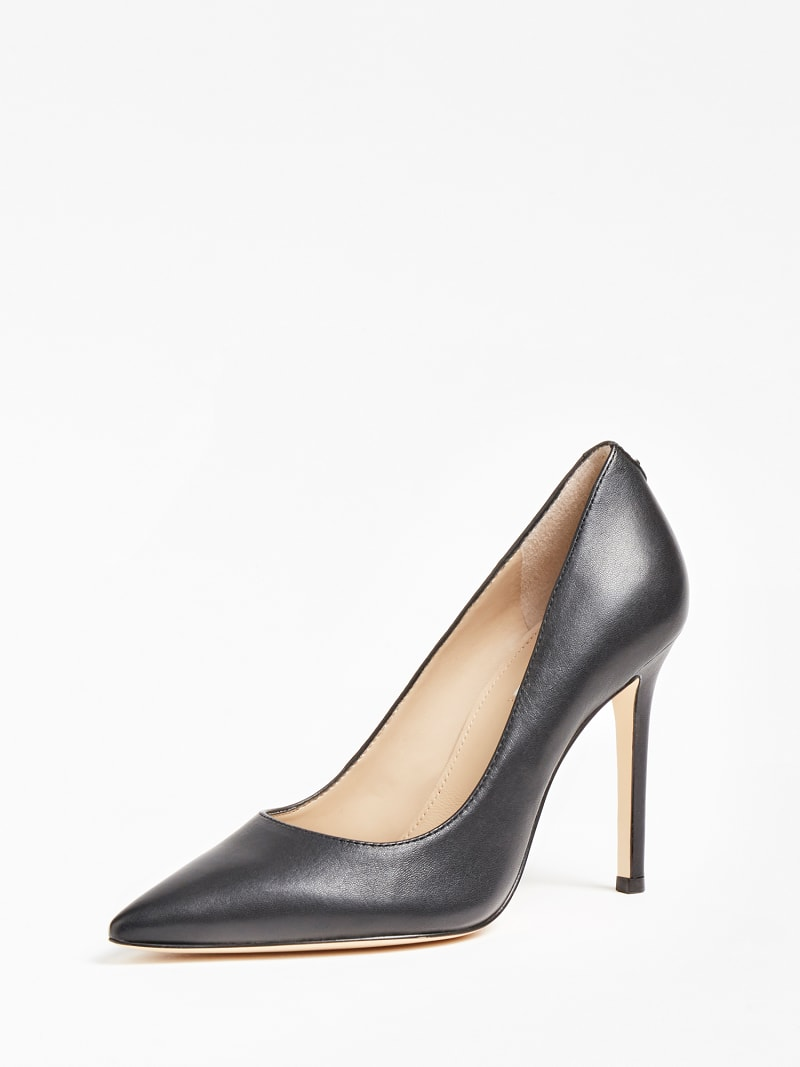 GAVI REAL LEATHER COURT SHOE image number 0