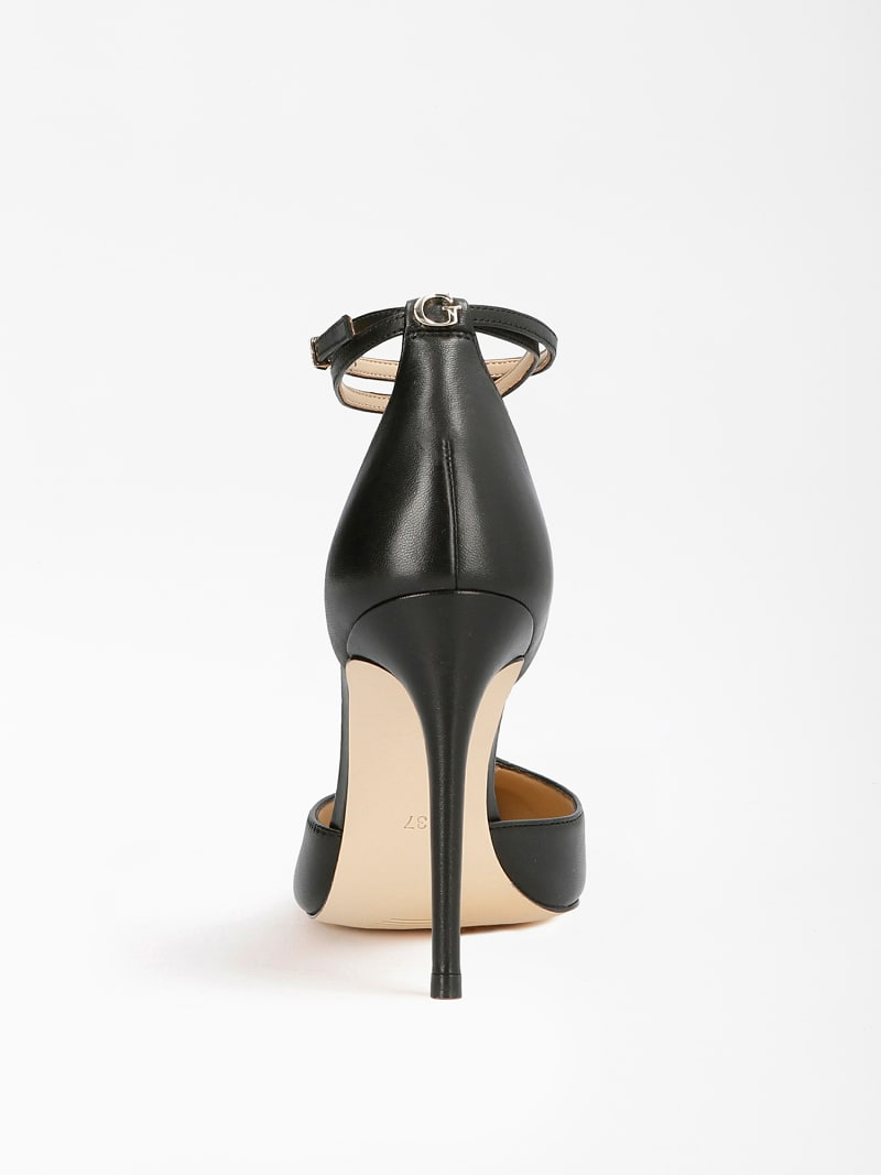 NIOMY REAL LEATHER COURT SHOE image number 2