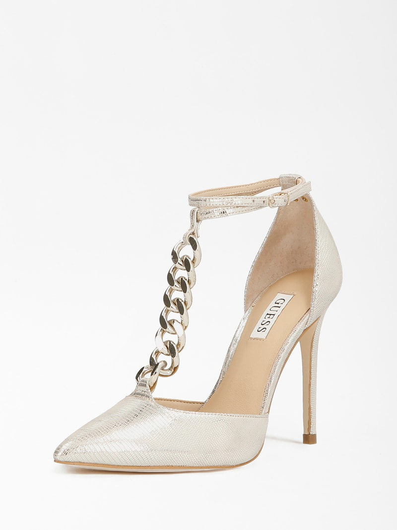 NIOMY REAL LEATHER COURT SHOE image number 0