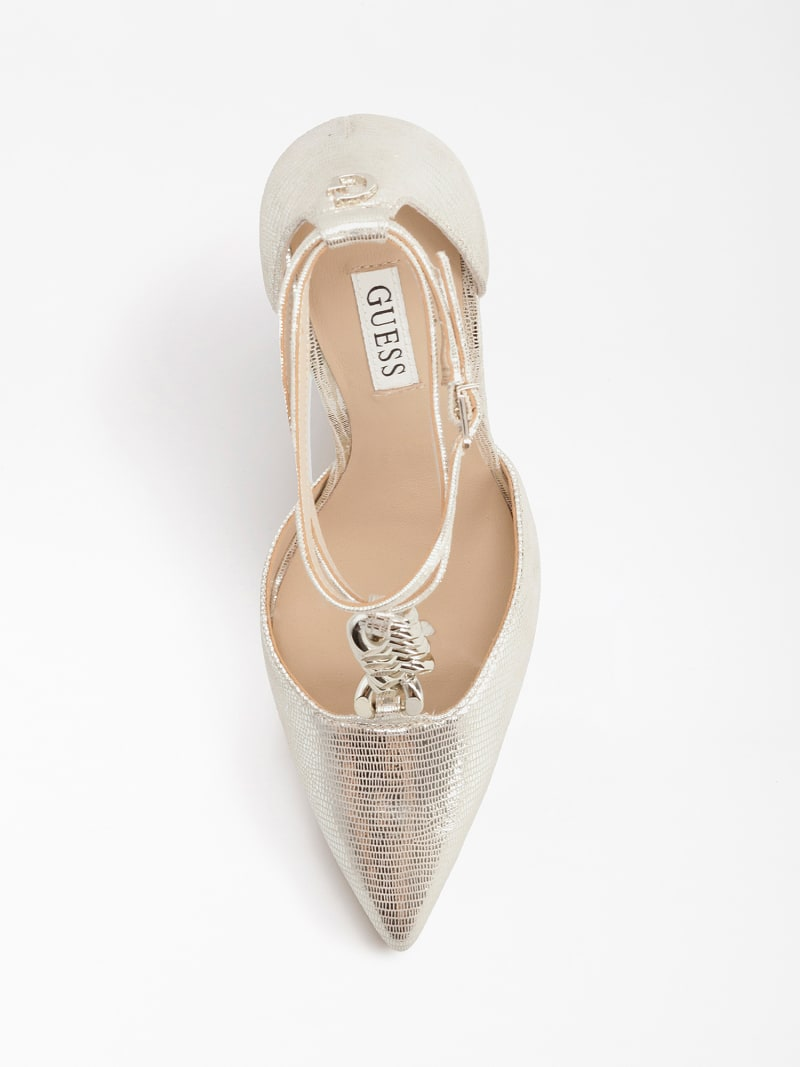 NIOMY REAL LEATHER COURT SHOE image number 3