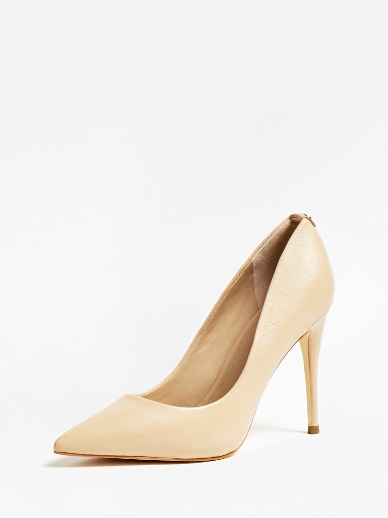 OKLEY REAL LEATHER COURT SHOE image number 0