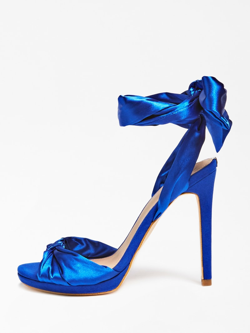 TEFFANY SILK RIBBON SANDAL image number 1