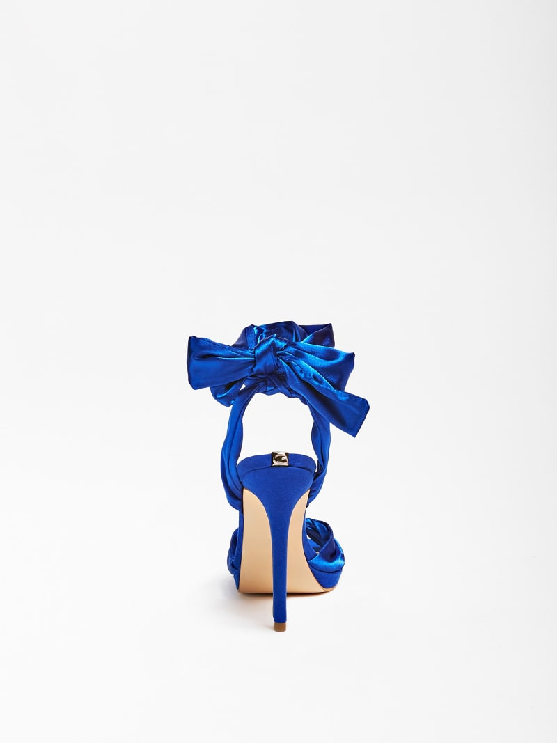 TEFFANY SILK RIBBON SANDAL image number 2