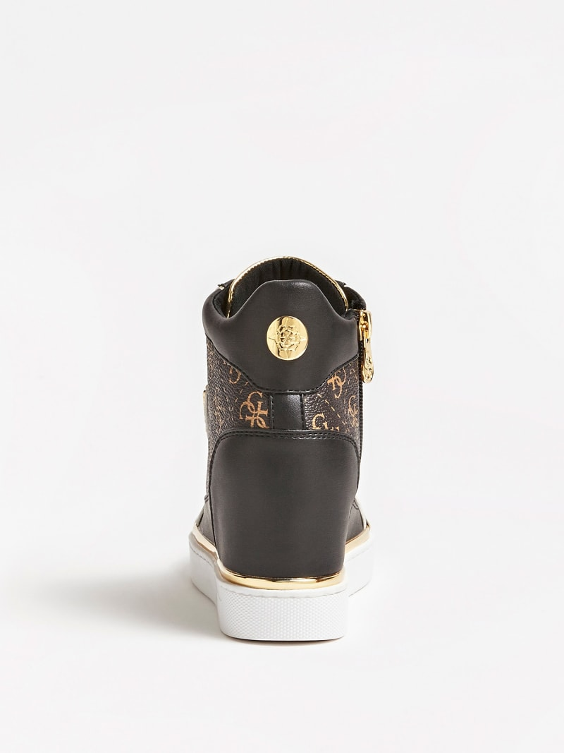FABIA WEDGE SNEAKERS WITH LOGO image number 2
