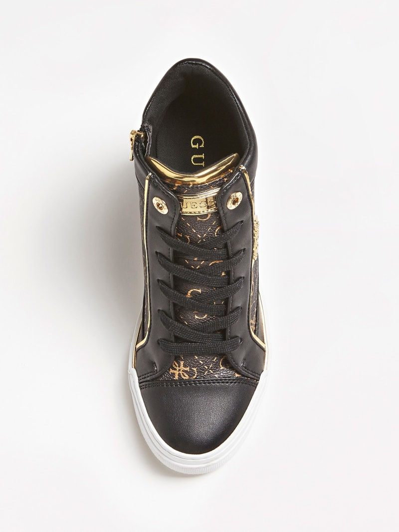 FABIA WEDGE SNEAKERS WITH LOGO image number 3