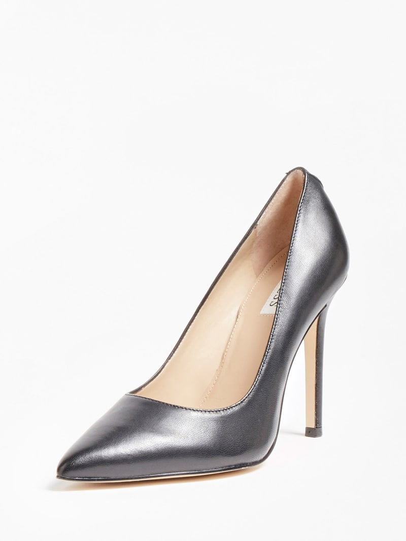 GAVI GENUINE LEATHER COURT SHOE image number 0