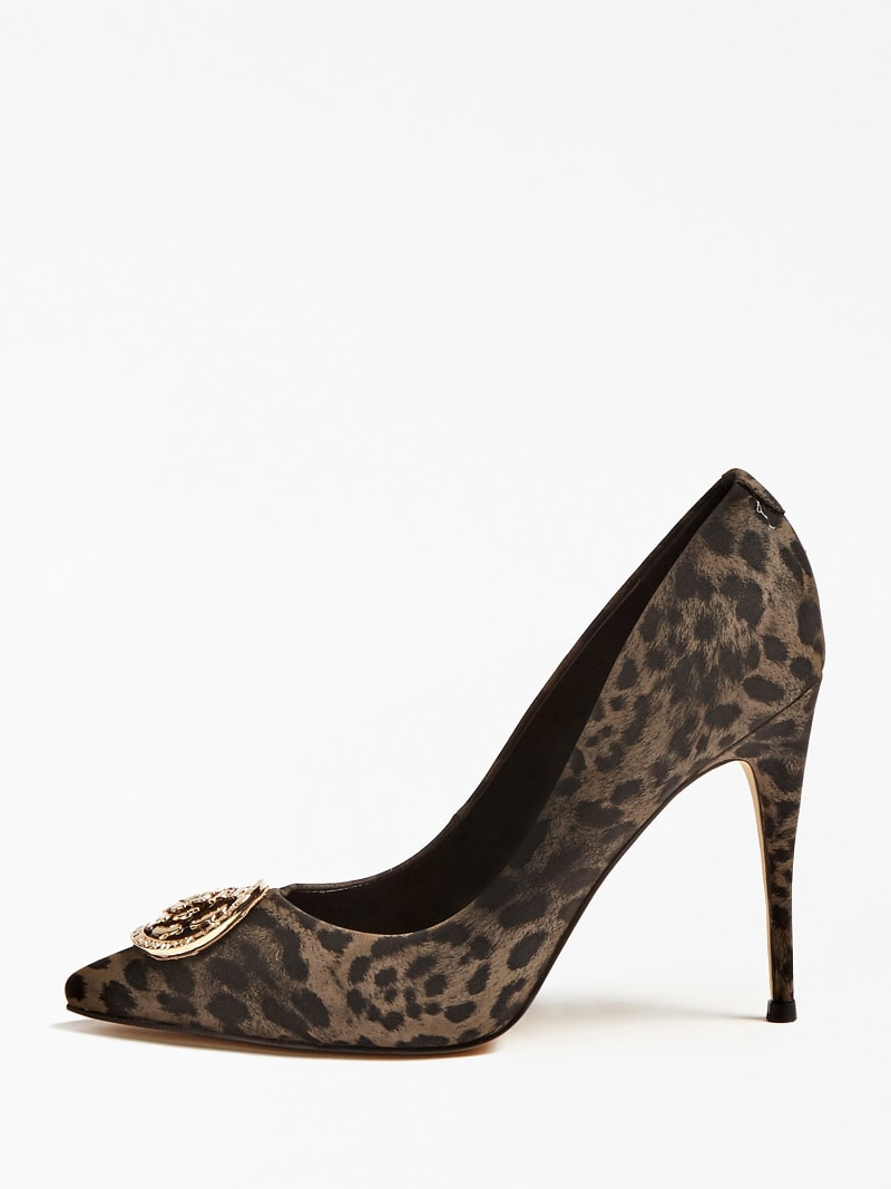 ANIMAL-PRINT COURT SHOES image number 1