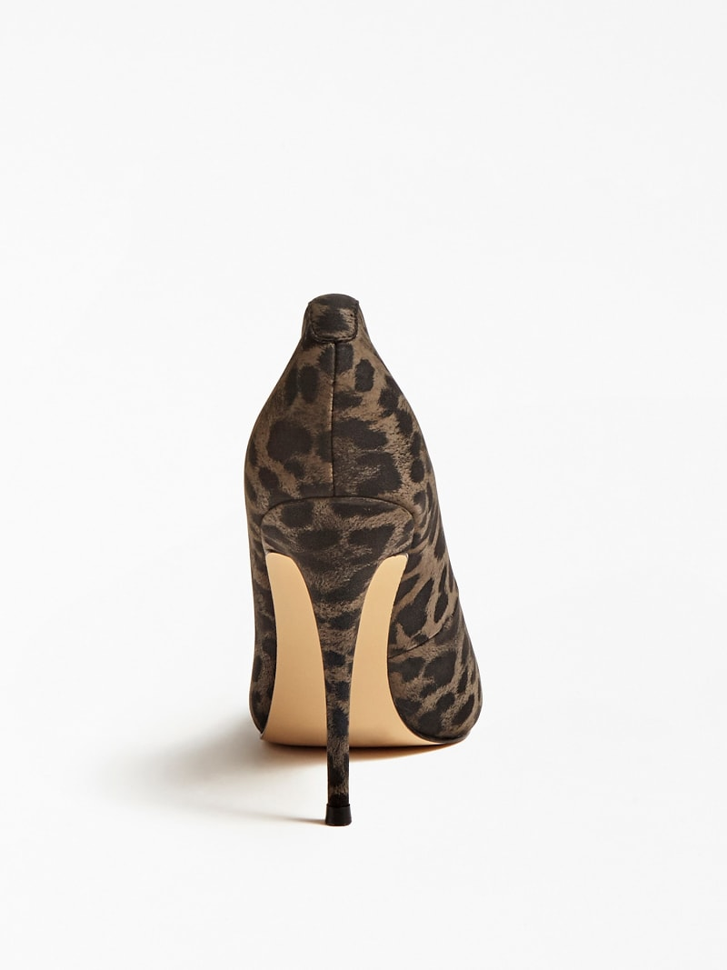 ANIMAL-PRINT COURT SHOES image number 2