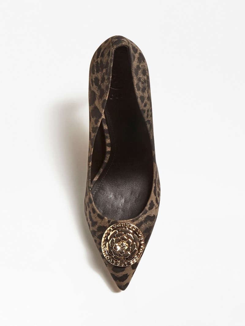 ANIMAL-PRINT COURT SHOES image number 3