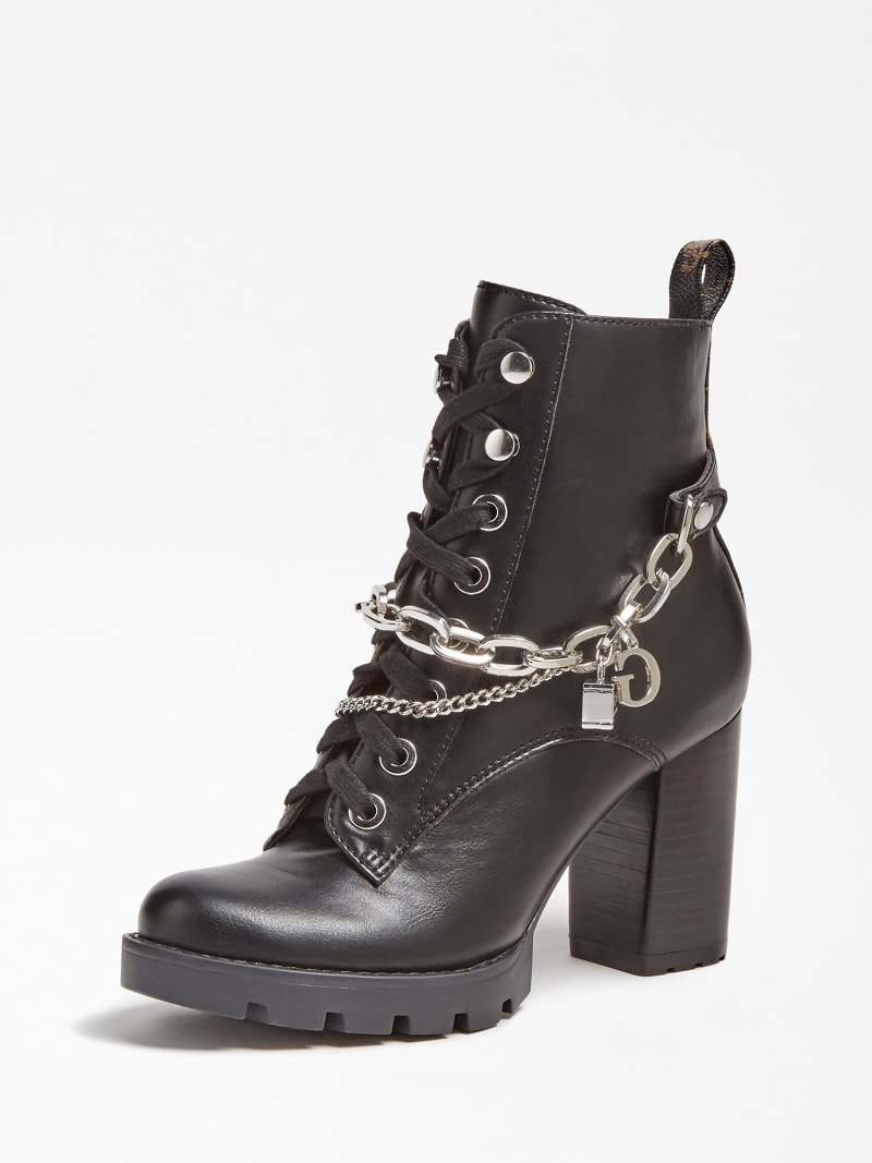 RAIZEL CHARM CHAIN ANKLE BOOT image number 0