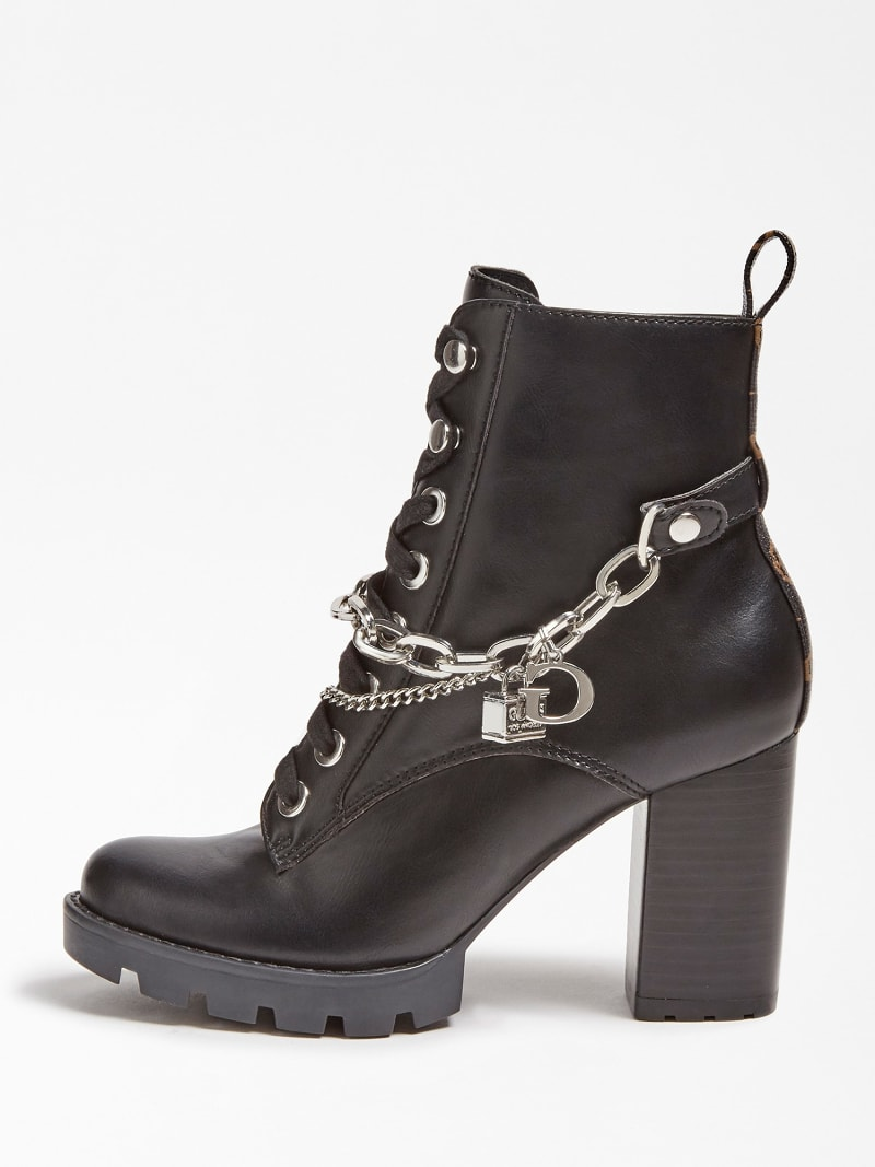 RAIZEL CHARM CHAIN ANKLE BOOT image number 1