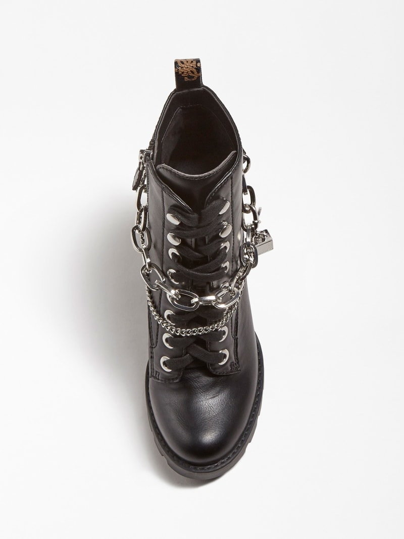 RAIZEL CHARM CHAIN ANKLE BOOT image number 3