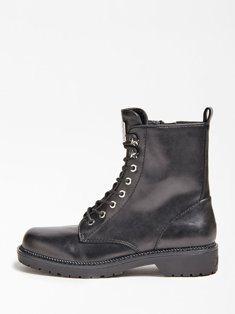 TALISI GENUINE LEATHER COMBAT BOOT image number 1